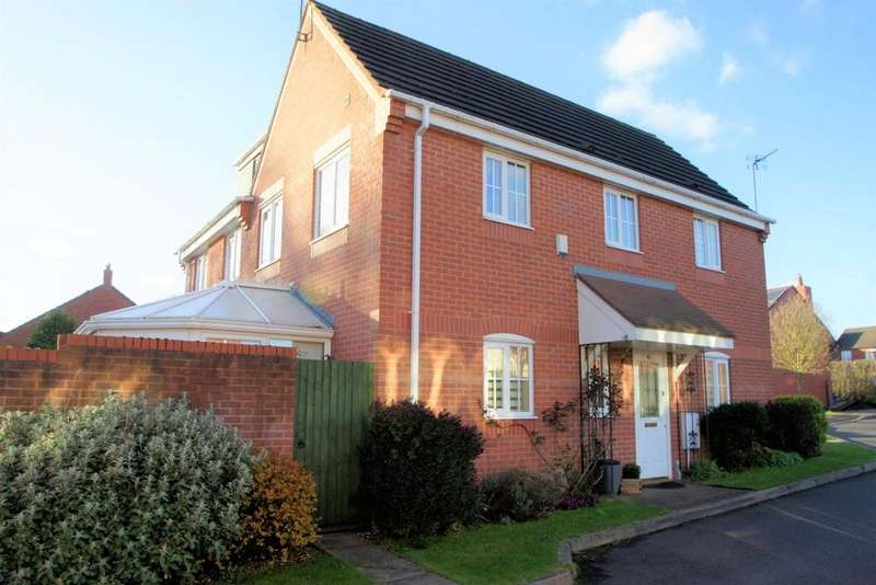 3 Bedrooms Semi Detached House for sale in New Plant Lane, Chase Terrace, Burntwood
