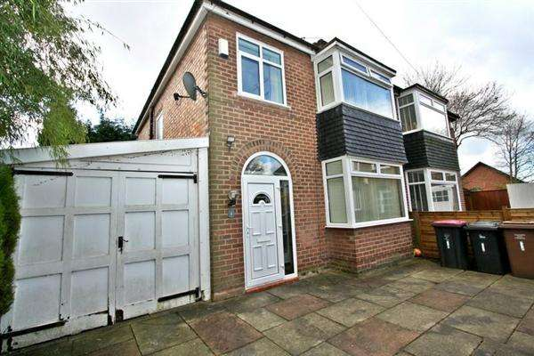 3 Bedrooms Semi Detached House for sale in Oakmoor Drive, Salford