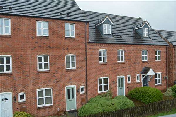 4 Bedrooms Town House for sale in Bridgeside Close, Clayhanger, Walsall