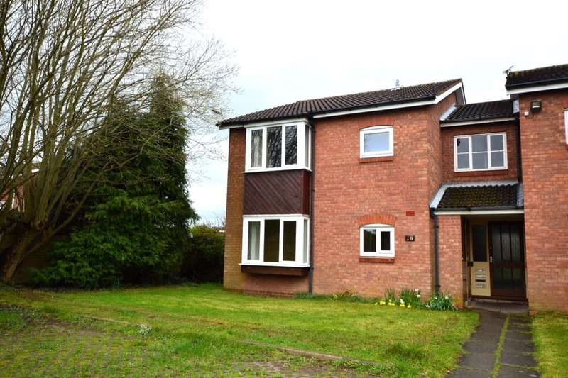 1 Bedroom Flat for sale in Bader Road, Perton, Wolverhampton, WV6