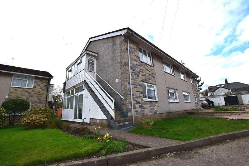 2 Bedrooms Ground Maisonette Flat for sale in Wenallt Court, Rhiwbina, Cardiff. CF14 6LJ