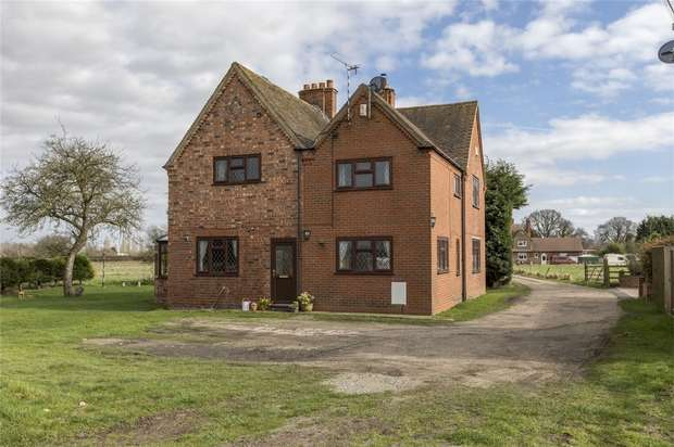 4 Bedrooms Detached House for sale in Stoneleigh Road, Baginton