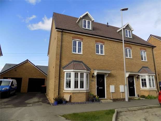 4 Bedrooms Semi Detached House for sale in Theedway, Leighton Buzzard, Bedfordshire