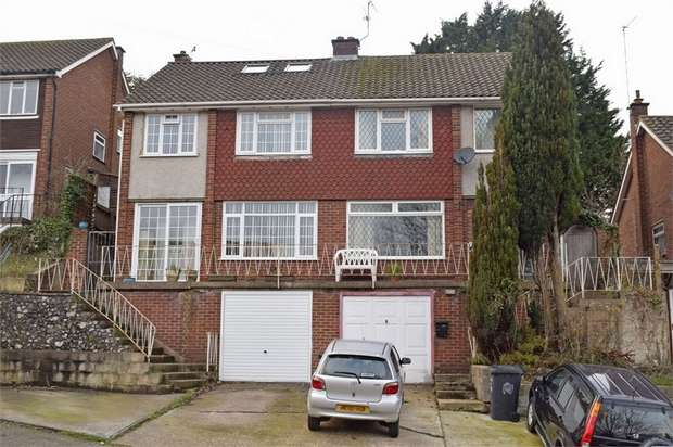 3 Bedrooms Semi Detached House for sale in Hughenden Avenue, High Wycombe, Buckinghamshire