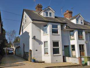 3 Bedrooms End Of Terrace House for sale in Norman Villas, Cranbrook Road, Hawkhurst, Cranbrook