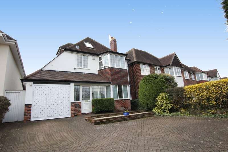 4 Bedrooms Detached House for sale in Eachelhurst Road, Walmley, Sutton Coldfield. B76 1EW