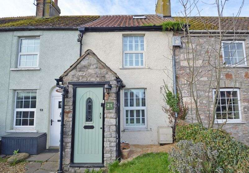 2 Bedrooms Terraced House for sale in Pretty cottage in the village of Yatton