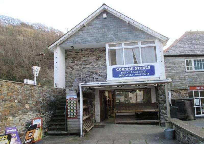Commercial Property for sale in 7 The Bridge, Boscastle