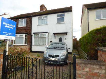 3 Bedrooms Semi Detached House for sale in St. Marks Road, Saltney, Cheshire, CH4