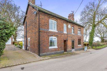 2 Bedrooms Semi Detached House for sale in Ingleside, Paddock Lane, Audlem, Cheshire