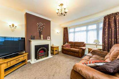 3 Bedrooms Semi Detached House for sale in Rise Park, Romford, Essex