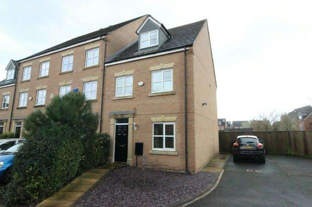 3 Bedrooms End Of Terrace House for sale in Abbotsleigh Avenue, Manchester