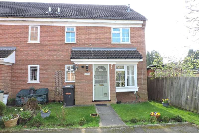 1 Bedroom Cluster House for sale in Howard Close, Luton, Bedfordshire, LU3 2PG