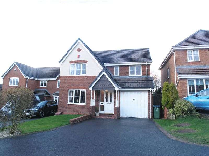 4 Bedrooms Detached House for sale in OLDBURY, TIVIDALE, Speakers Close