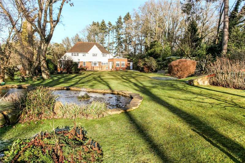 4 Bedrooms Detached House for sale in Off Hascombe Road, South Munstead, Godalming, Surrey, GU8