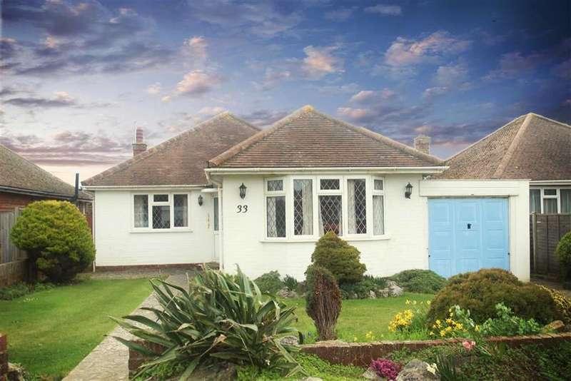 3 Bedrooms Detached Bungalow for sale in Amberley Road, Rustington, West Sussex