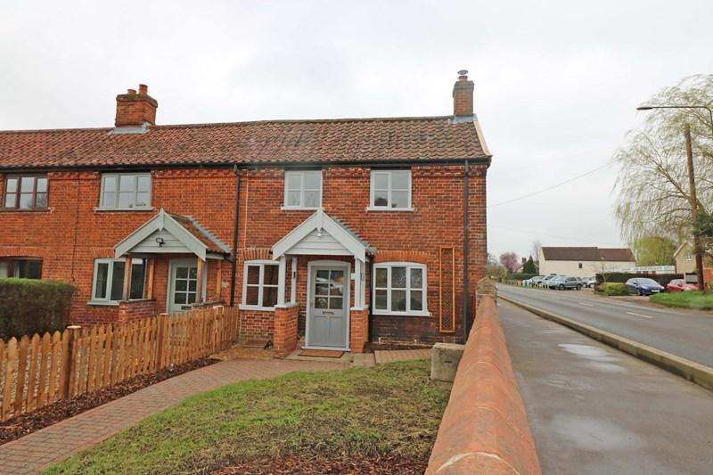 2 Bedrooms End Of Terrace House for sale in Skipping Block Row, Wymondham