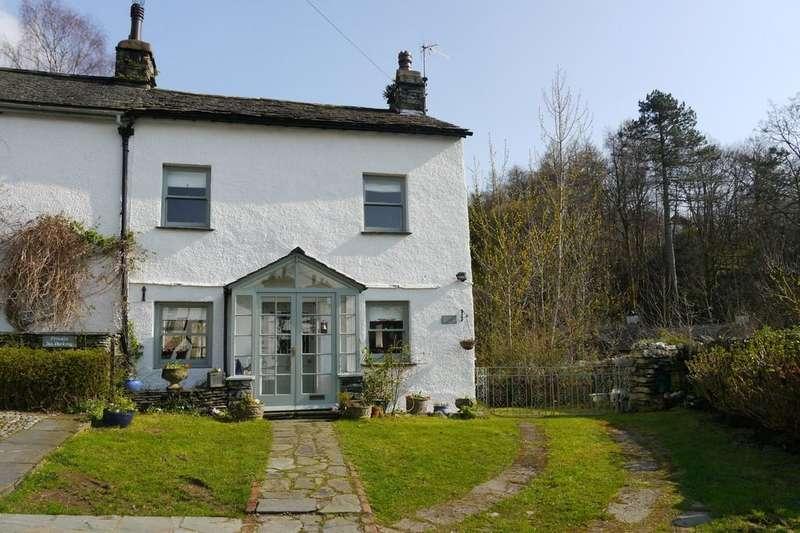 3 Bedrooms Semi Detached House for sale in Ashton Cottage, Fair View Road, Ambleside, LA22 9EE