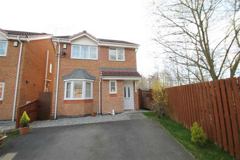 3 Bedrooms Detached House for sale in Solva Close, Wrexham, Wrexham