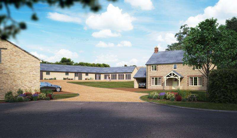 4 Bedrooms House for sale in Barn A, Yew Tree Farm, Stoke Goldington Road, Ravenstone, Olney