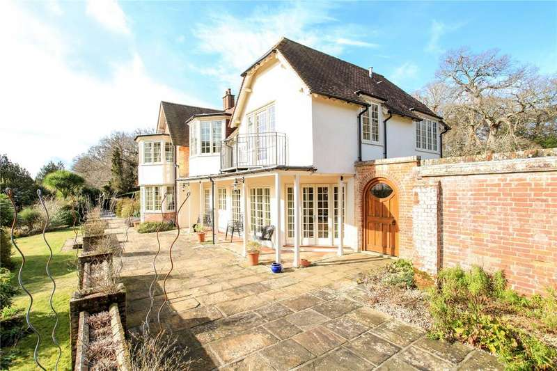 5 Bedrooms Detached House for sale in Shappen Bottom, Burley, Ringwood, Hampshire