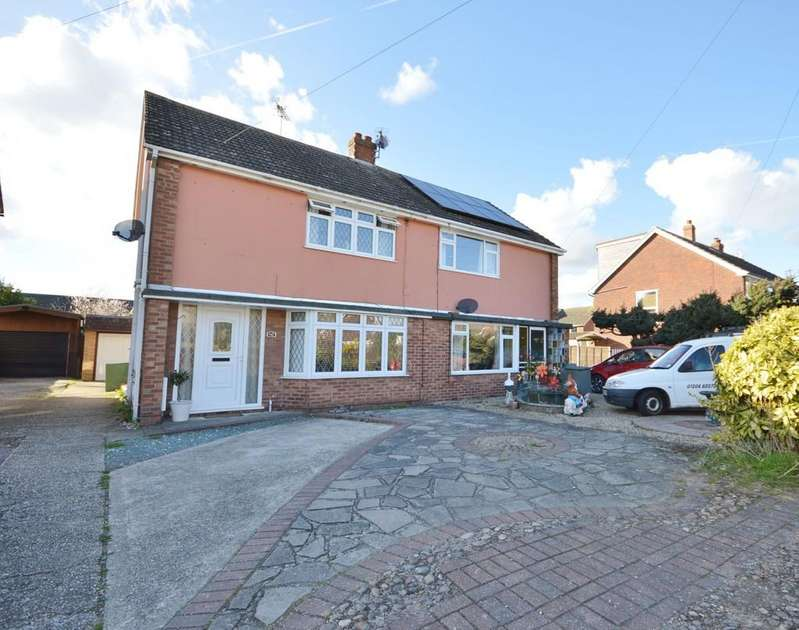 3 Bedrooms Semi Detached House for sale in Heath Road, Wivenhoe