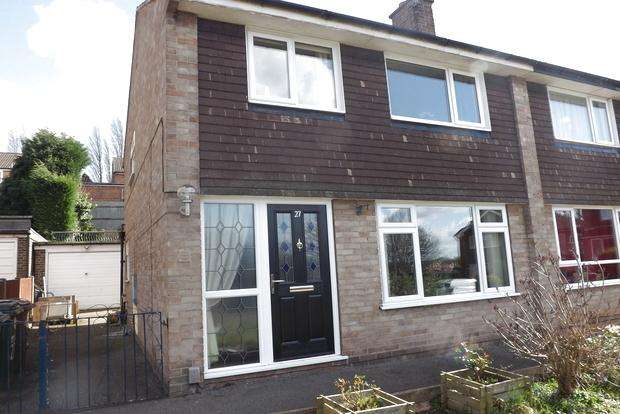 3 Bedrooms Semi Detached House for sale in Connelly Close, Arnold, Nottingham, NG5
