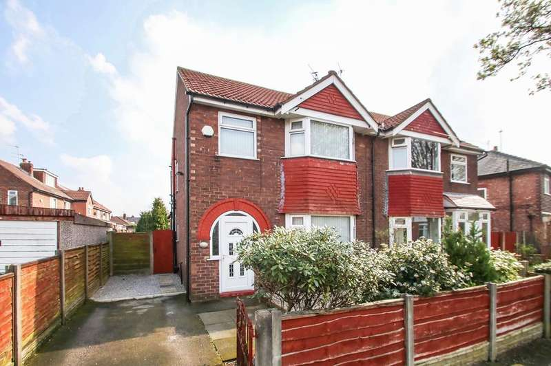 3 Bedrooms Semi Detached House for sale in Ciss Lane, Urmston, Manchester, M41