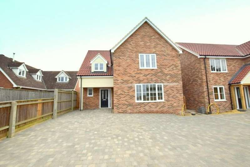 4 Bedrooms Detached House for sale in Lady Lane, Hadleigh, Ipswich