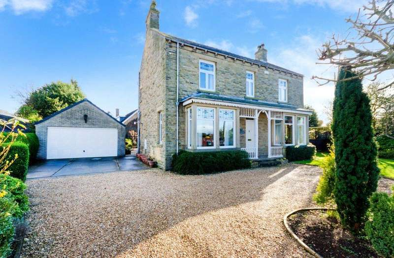 4 Bedrooms Detached House for sale in Manor Street, Ruskington, Sleaford, Lincolnshire, NG34