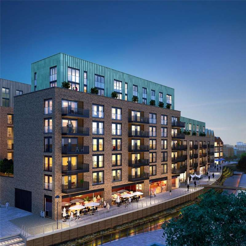 1 Bedroom Flat for sale in The Ram Quarter, Ram Street, Wandsworth, London, SW18