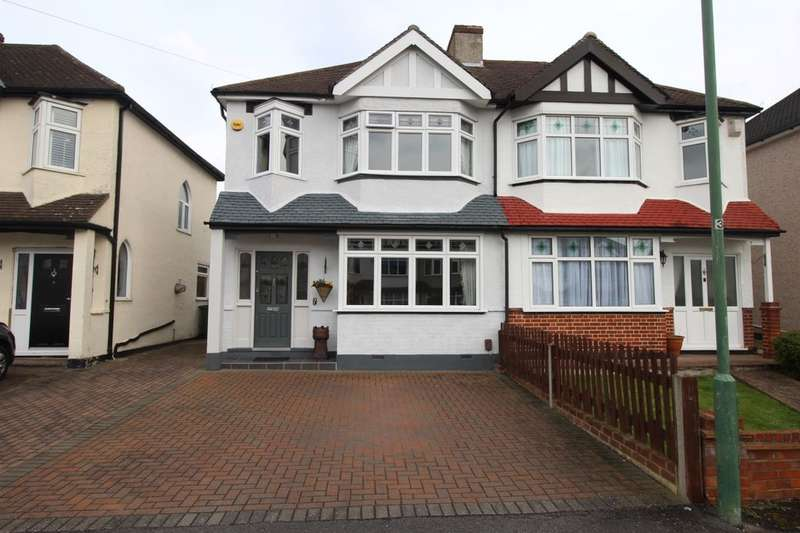 3 Bedrooms Semi Detached House for sale in Stonecot Close, Sutton, SM3