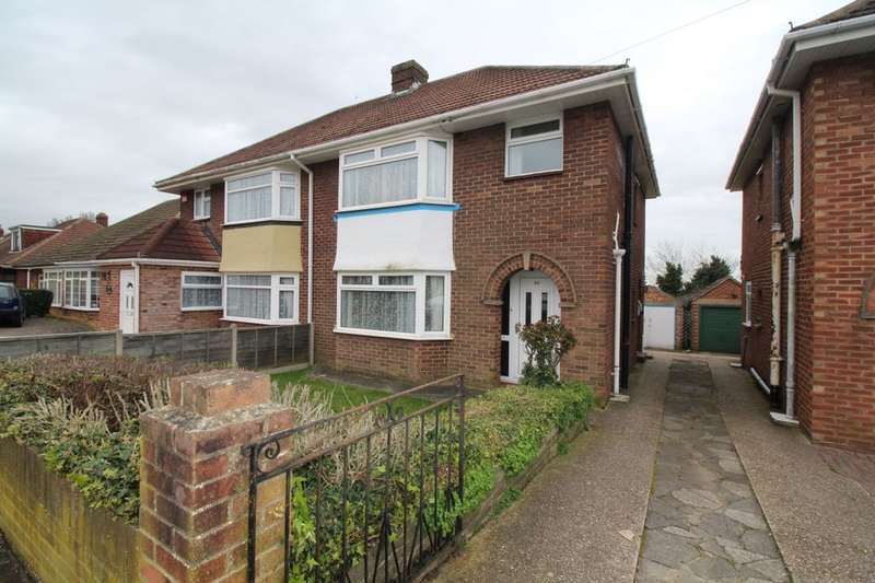 3 Bedrooms Semi Detached House for sale in Kelvin Grove, Portchester, Fareham, PO16