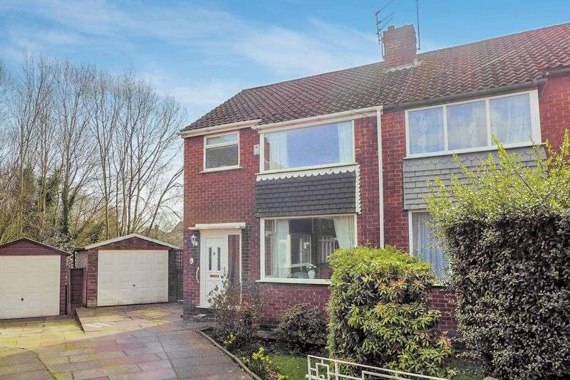 3 Bedrooms Semi Detached House for sale in Vendale Avenue, Swinton