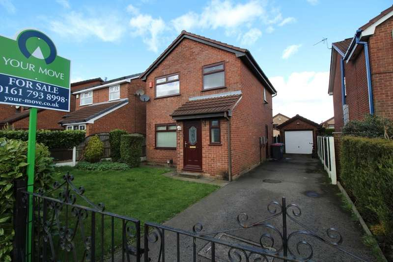 3 Bedrooms Detached House for sale in Ellerby Avenue, Clifton,Swinton, Manchester, M27