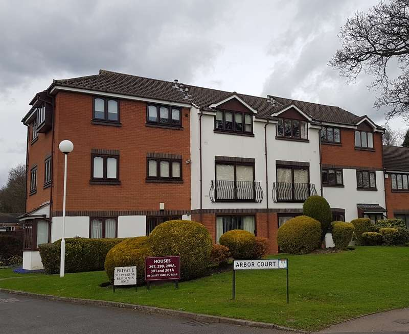 1 Bedroom Flat for sale in Arbor Court, Penns Lane, Sutton Coldfield, West Midlands, B76 1NA