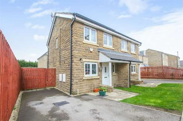 2 Bedrooms Semi Detached House for sale in Highfield Chase, Dewsbury, West Yorkshire