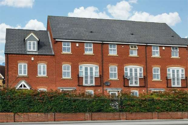 4 Bedrooms Town House for sale in Spindle Court, Mansfield, Nottinghamshire