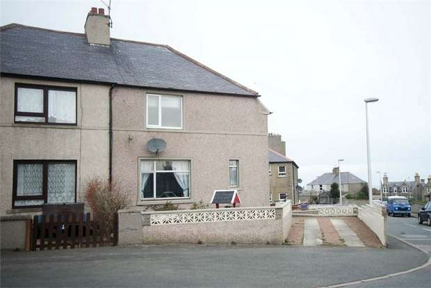 3 Bedrooms Semi Detached House for sale in Whinhill Terrace, Banff, Aberdeenshire