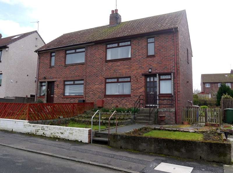 3 Bedrooms Semi Detached House for sale in Churchill Crescent, Ayr, KA8