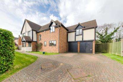 5 Bedrooms Detached House for sale in Huntingdon Crescent, Bletchley, Milton Keynes, Buckinghamshire