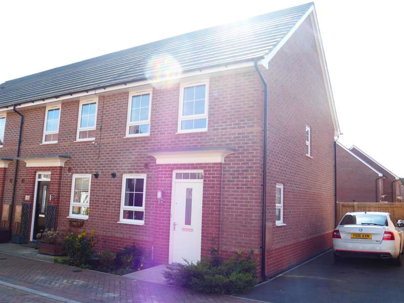 3 Bedrooms End Of Terrace House for sale in Wisdom Close, Fernwood, Newark, NG24