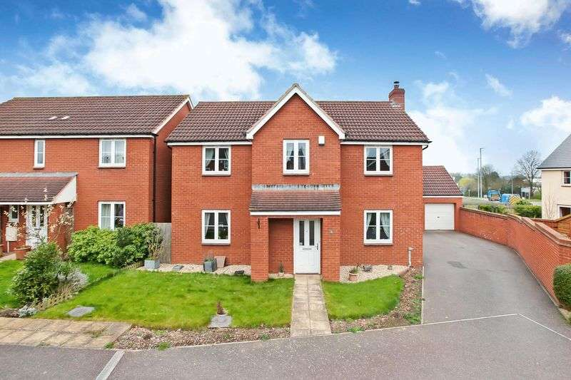 4 Bedrooms Detached House for sale in Cades Mead, Wellington