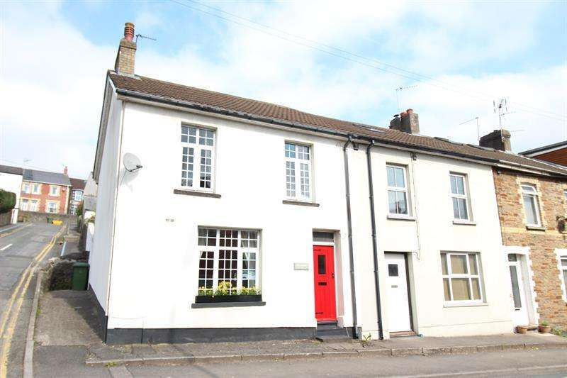 2 Bedrooms End Of Terrace House for sale in Commercial Road, Machen, Caerphilly