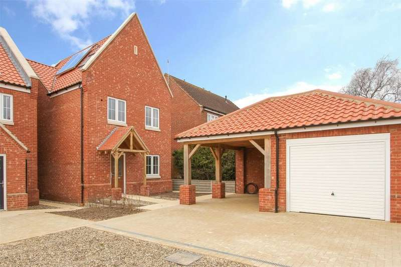 4 Bedrooms Detached House for sale in Swan's Nest, Bayfield Way, Swaffham, Norfolk
