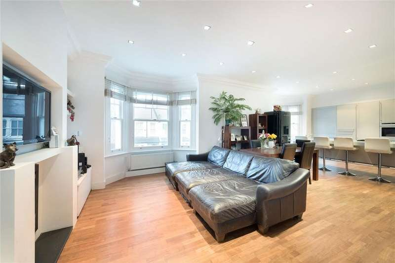 3 Bedrooms Maisonette Flat for sale in Cleveland Gardens, Barnes, London, SW13