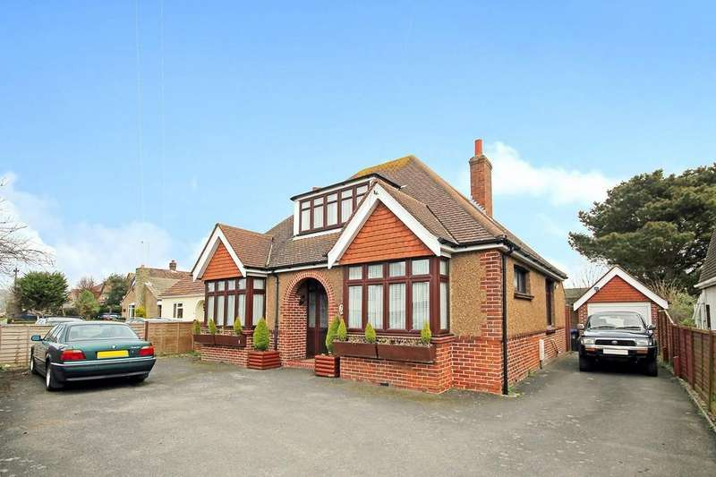 4 Bedrooms Detached House for sale in Grinstead Lane, Lancing, BN15 9DT