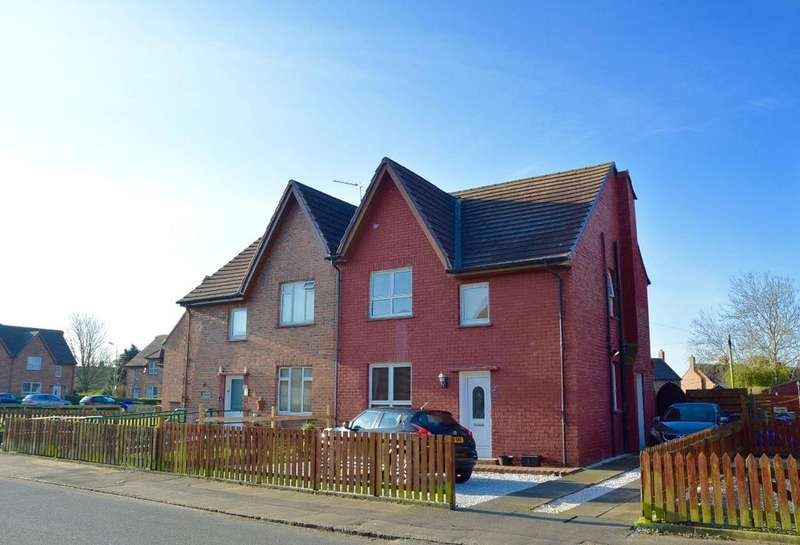 3 Bedrooms Semi Detached House for sale in Dalmilling Crescent, Ayr, Ayrshire, KA8 0QJ