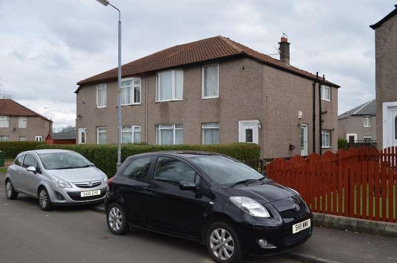2 Bedrooms Flat for sale in Kilchattan Drive, Kingspark, Glasgow, Glasgow, G44 4PZ