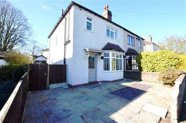 3 Bedrooms Semi Detached House for sale in Wolseley Road, Wolstanton, Newcastle